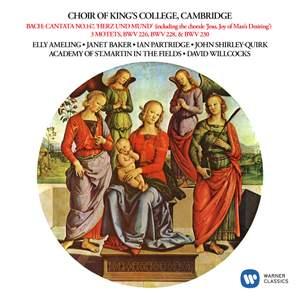 Bach: Cantata, BWV 147 'Herz und Mund und Tat und Leben', Motets, BWV 226, 228 & 230