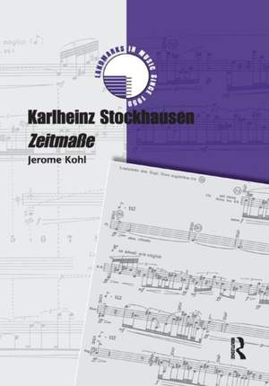Karlheinz Stockhausen: Zeitma