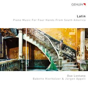 Latin Piano Music for Four Hands from South America
