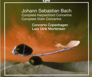 JS Bach: Complete Harpsichord Concertos & Complete Violin Concertos
