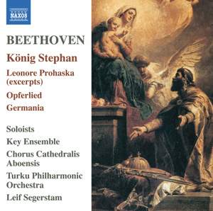 Beethoven: König Stephan; Leonore Prohaska; Opferlied, Germania Product Image