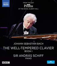 JS Bach: The Well-Tempered Clavier, Book I (Blu-ray)