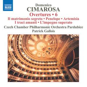 Cimarosa: Overtures Vol. 6 Product Image