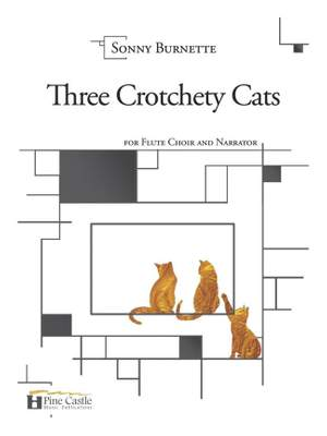 Sonny Burnette: Three Crotchety Cats Product Image