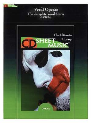Giuseppe Verdi: Verdi Operas: The Complete Vocal Scores