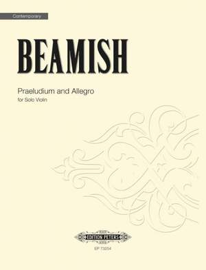 Sally Beamish: Praeludium and Allegro