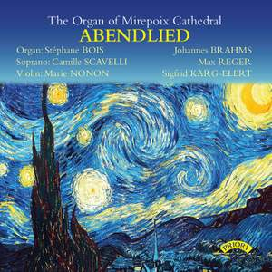 Abendlied – Stephane Bois plays the Link Organ of Mirepoix Cathedral, France