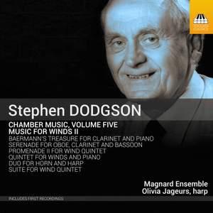 Stephen Dodgson: Chamber Music, Volume Five Product Image