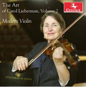 The Art of Carol Lieberman, Vol. 2: Modern Violin