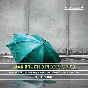 Max Bruch: 8 Pieces, Op. 83 Product Image