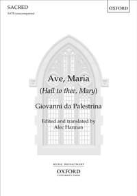 Palestrina, Giovanni da: Ave, Maria