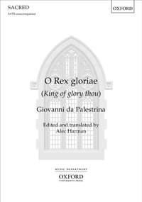 Palestrina, Giovanni da: O Rex gloriae