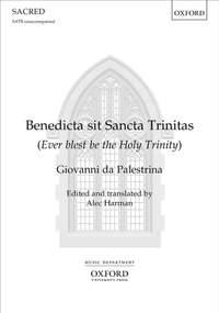 Palestrina, Giovanni da: Benedicta sit Sancta Trinitas