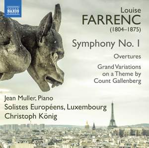 Louise Farrenc: Symphony No. 1 Product Image