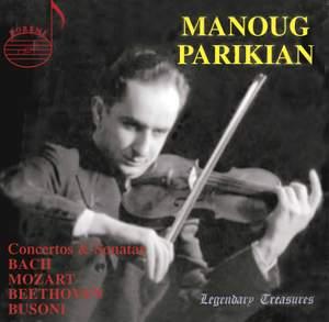 Manoug Parikian, Vol. 1: Concertos & Sonatas Product Image