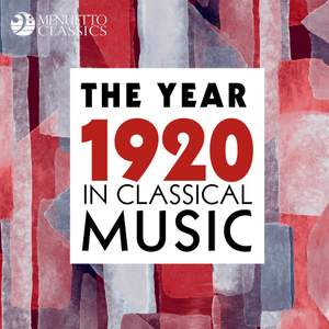 The Year 1920 in Classical Music