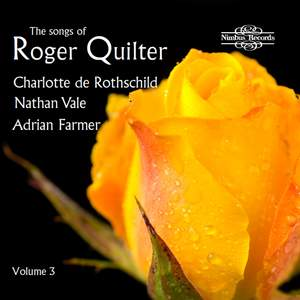 The Songs of Roger Quilter, Vol. 3 Product Image