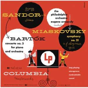 Bartók: Piano Concerto No. 3 & Myaskovsky: Symphony No. 21
