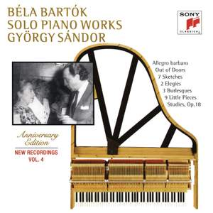 Bartók: Out of Doors & 7 Sketches & Two Elegies & 9 Little Piano Pieces