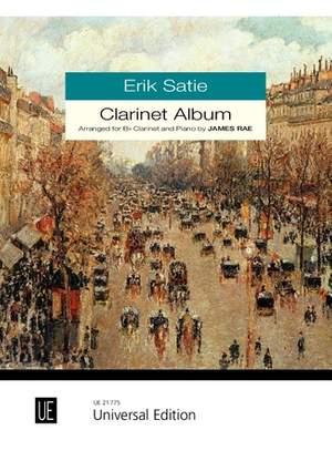 Satie, E: Clarinet Album