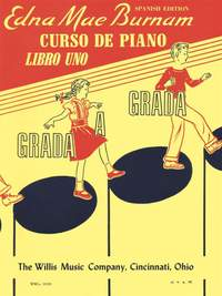 Edna-Mae Burnam: Step by Step Piano Course - Book 1 - Spanish Ed.