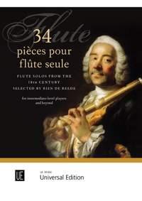 34 pièces pour flûte seule (Flute Solos from the Eighteenth Century)