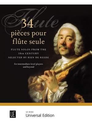 34 pièces pour flûte seule