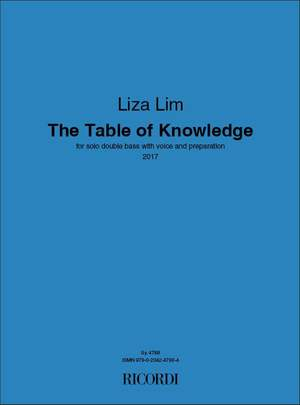 Liza Lim: The Table of Knowledge