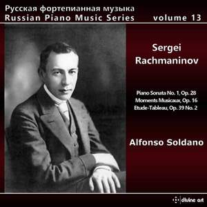 Russian Piano Music, Vol. 13 - Sergei Rachmaninov Product Image