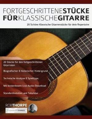 Fortgeschrittene Stücke Für Klassische Gitarre