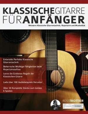 Klassische Gitarre für Anfänger