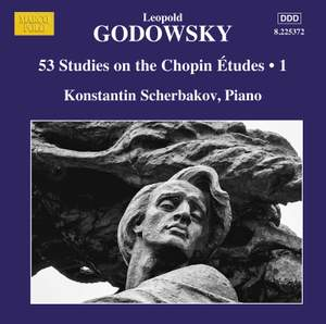 Leopold Godowsky: 53 Studies on the Chopin Études, Vol. 1 Product Image