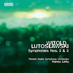 """Résultat de recherche d'images pour """"Lutoslawski: Symphonies 2 and 3 (Ondine)"""""""