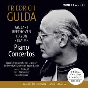 Friedrich Gulda: Piano Concertos by Mozart, Haydn, Beethoven, Strauss