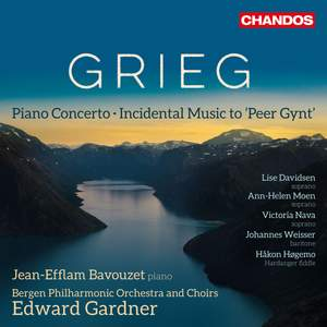 Grieg: Piano Concerto & Incidental Music to 'Peer Gynt' Product Image