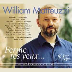 William Matteuzzi: Ferme tes yeux