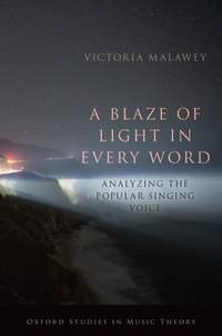 A Blaze of Light in Every Word: Analyzing the Popular Singing Voice