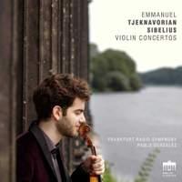Tjeknavorian & Sibelius: Violin Concertos