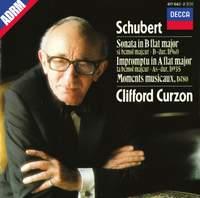 Schubert: Piano Sonata D960, Impromptu D935, Moments musicaux D780