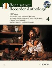 Renaissance Recorder Anthology 4 Vol. 4