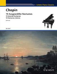 Chopin: 10 Selected Nocturnes for Piano