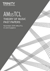 Trinity College London: Trinity College London Theory Past Papers Nov 2019: AMusTCL