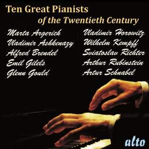 Ten Great Pianists of the Twentieth Century
