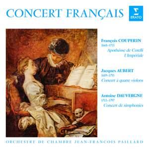 Concert français. Pièces de Couperin, Aubert & Dauvergne