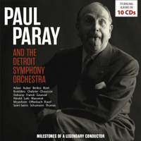 Paul Paray and the Detroit Symphony Orchestra