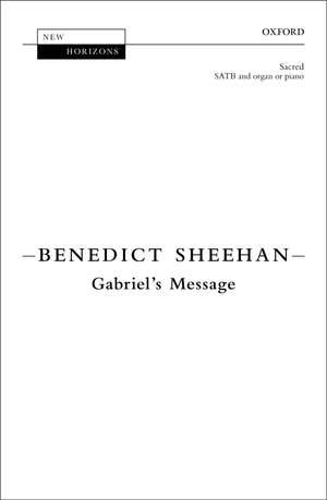 Sheehan, Benedict: Gabriel's Message