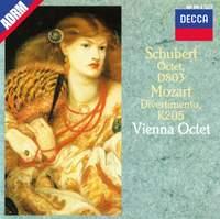 Schubert: Octet D803, Mozart: Divertimento in D K205
