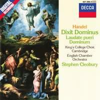 Handel: Dixit Dominus, Laudate pueri Dominum