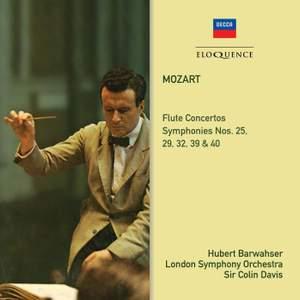 Mozart: Flute Concertos; Symphonies 39, 40, 25, 29, 32