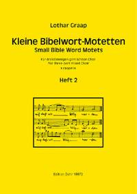 Graap, L: Small Bible Word Motets Volume 2